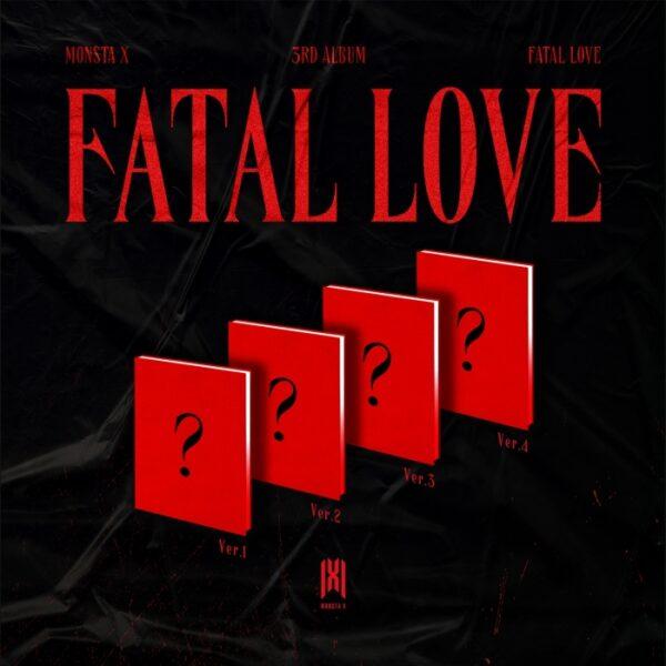 monsta x 3rd album fatal love random ver