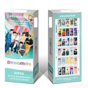 BTS bookmarks DYNAMITE box