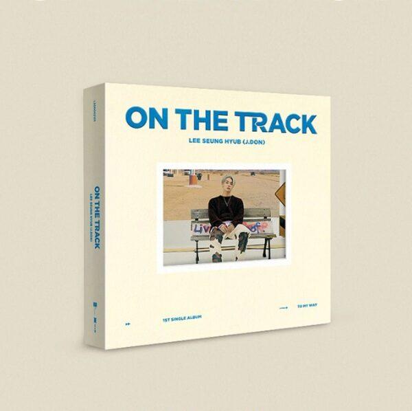 Lee Seunghyub J.DON 1st Single ON THE TRACK Random Ver. Poster 2