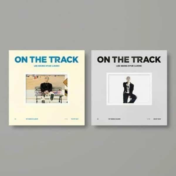 Lee Seunghyub J.DON 1st Single ON THE TRACK Random Ver. Poster3