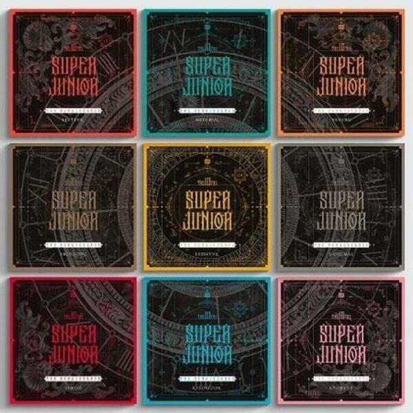 SUPER JUNIOR Vol.10 The Renaissance SQUARE Style Random Ver.