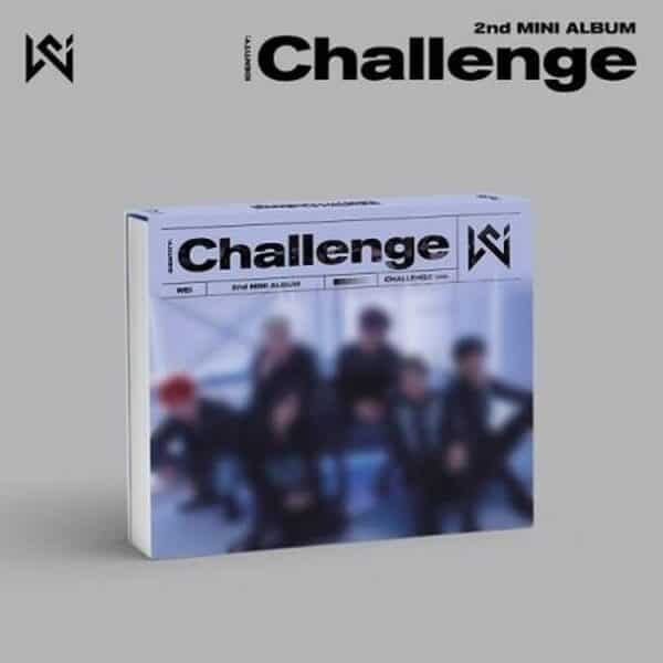 WEi 2nd Mini IDENTITY Challenge CHALLENGE Ver. Poster
