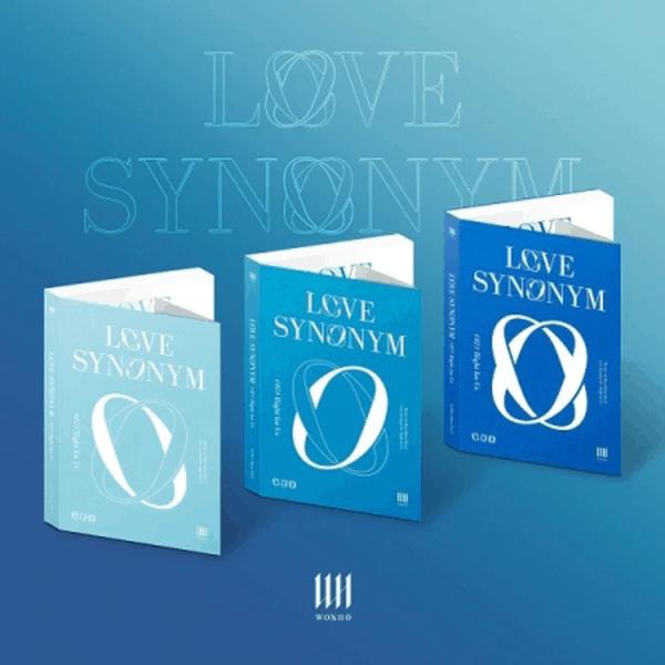 WONHO 1st Mini Part.2 Love Synonym 2 Right for Us Random Ver.