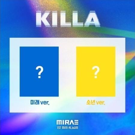 set mirae 1st mini album killa set ver 2cd 2poster