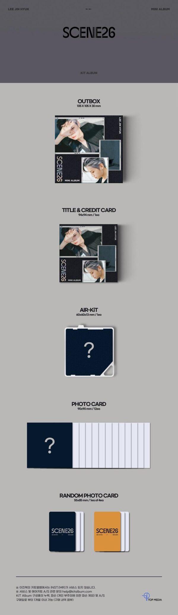 KiT Album LEE JIN HYUK 3nd Mini SCENE26 1