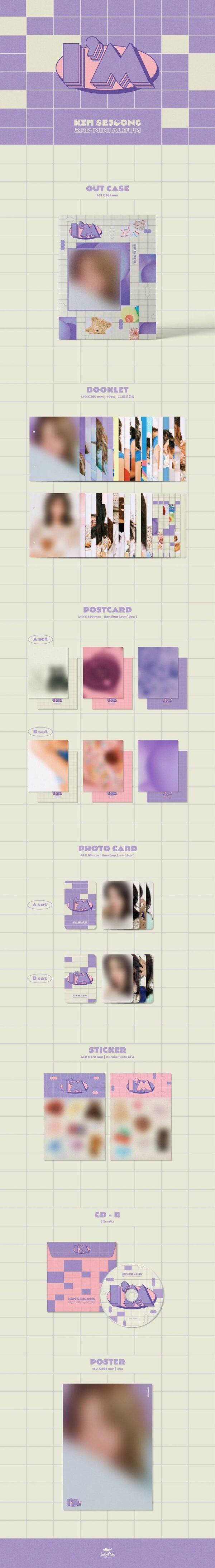 Kim Se Jeong 2nd Mini Im Poster