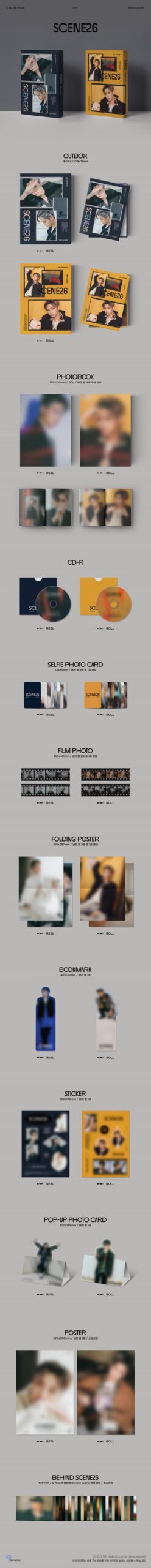 LEE JIN HYUK 3nd Mini SCENE26 Poster