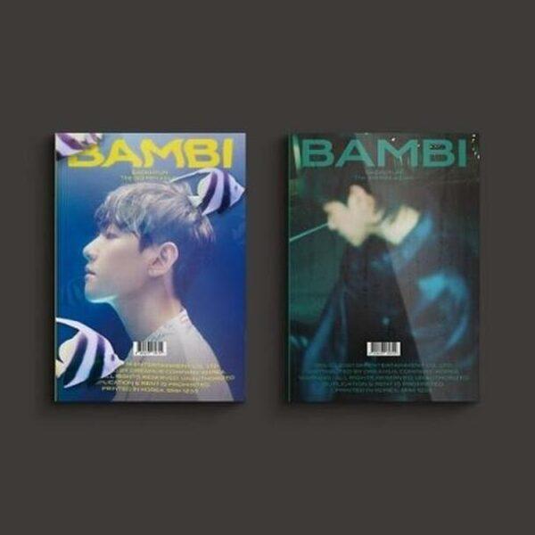 PhotoBook Ver. BAEK HYUN 3th Mini Bambi Random Ver. Poster 1