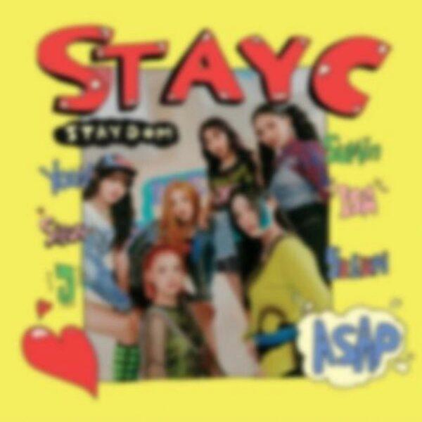 STAYC 2nd Single STAYDOM Poster 1