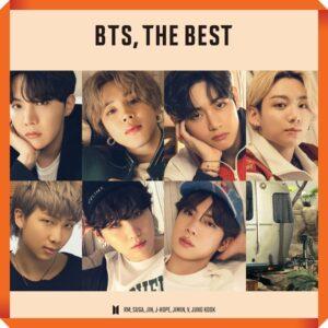 Album de BTS – BTS THE BEST Version Japonesa. 2CD Seven Net Edition