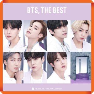 Album de BTS – BTS THE BEST Version Japonesa. 2CD Universal Edition