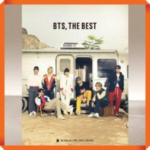 Album de BTS BTS THE BEST Japanese Ver. 2CD BTS Official Shop Edition