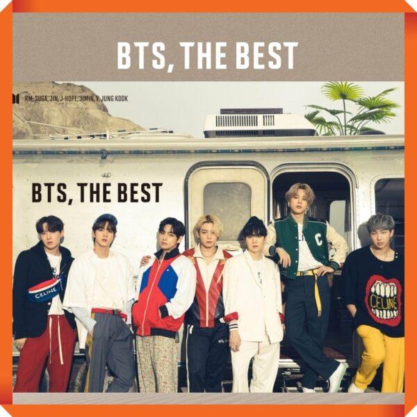 Album de BTS BTS THE BEST Japanese Ver. 2CD2DVD Limited Edition B Ver.
