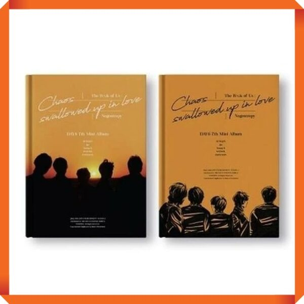 DAY6 7th Mini The Book of Us Negentropy Chaos swallowed up in love Random Ver. Poster 1