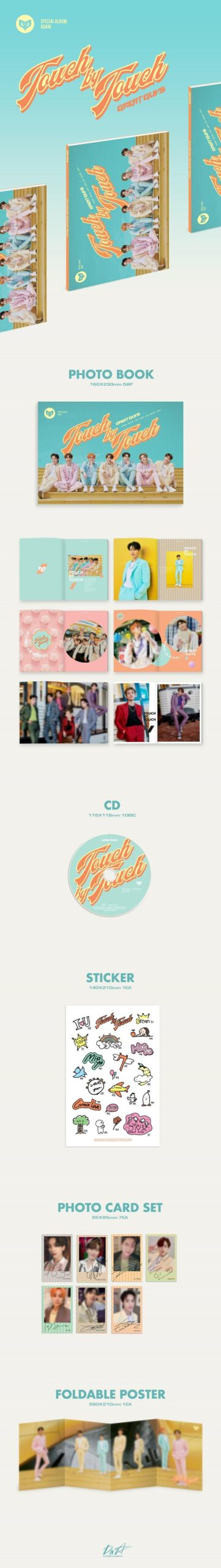GREAT GUYS Touch by Touch Special Album AGAIN 1