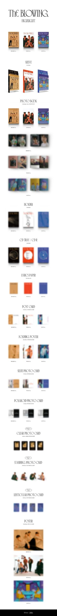 Highlight 3rd Mini The Blowing Poster