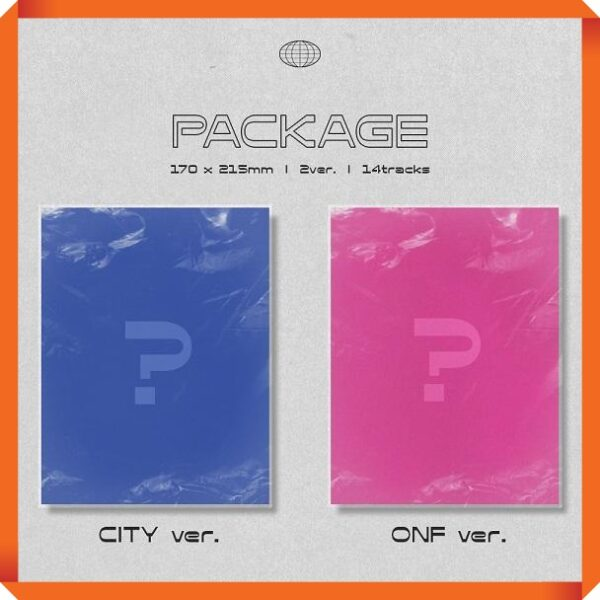 ONF REPACKAGE Album CITY OF ONF Poster 1