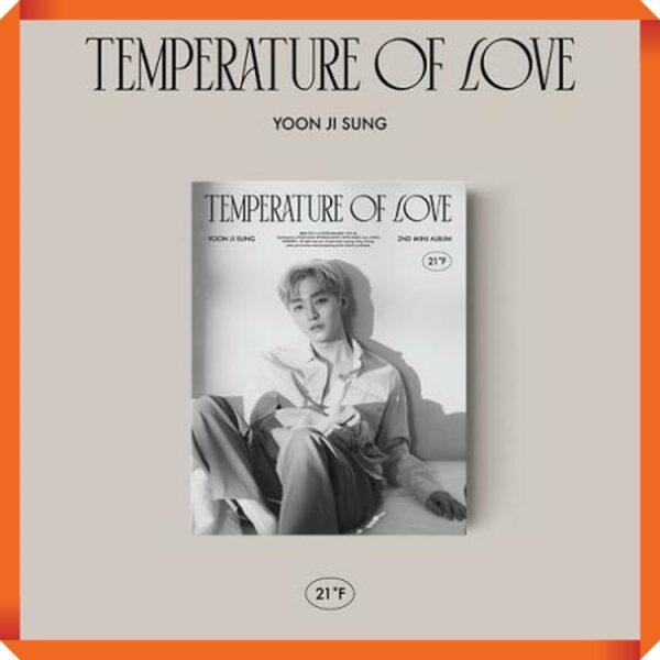 Yoon JiSung Album Temperature of Love 21℉ Ver. Poster 1