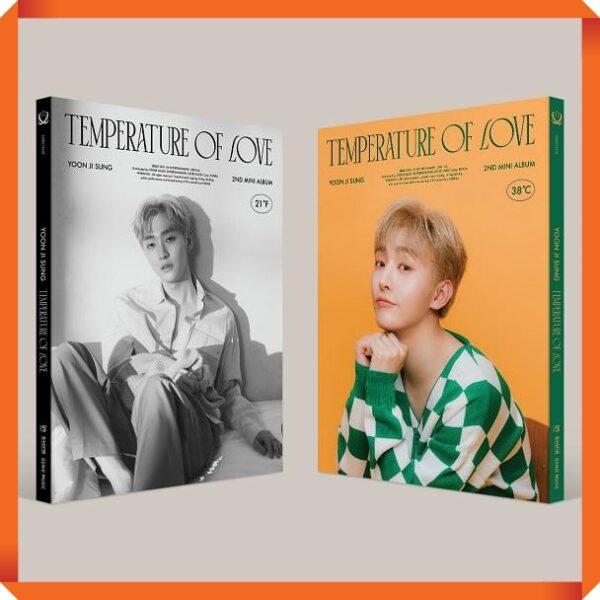 Yoon JiSung Album Temperature of Love Poster