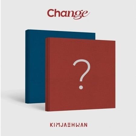 set kim jae hwan 3rd mini album change set ver 2cd 2poster