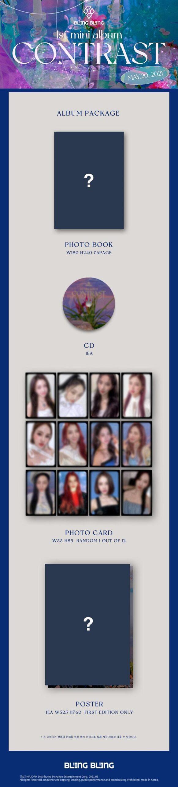 1st Mini de Bling Bling CONTRAST Poster 1