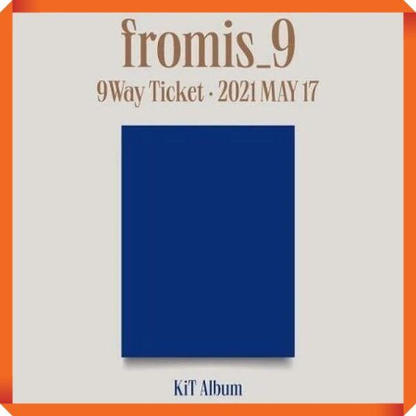 FROMIS 9 2nd Single 9 WAY TICKET Kit Alb