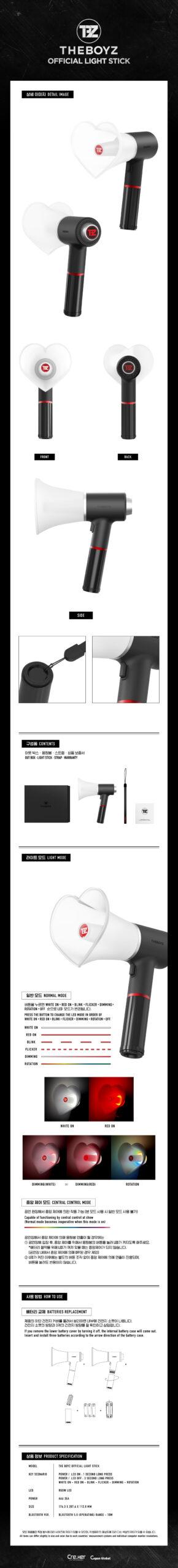 Light Stick OFFICIAL de ONF Photo Card Gift 1