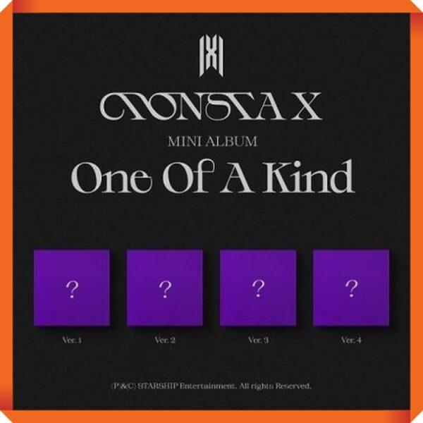 MONSTA X Mini Album ONE OF A KIND Random Ver.