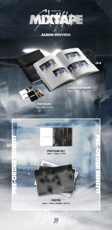 STRAY KIDS Pre Debut Album Mixtape CD 1