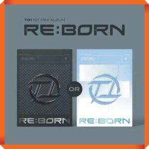 TO1 1st Mini RE BORN Random Ver