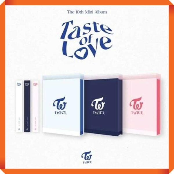 TWICE 10th Mini Taste of Love Random Ver