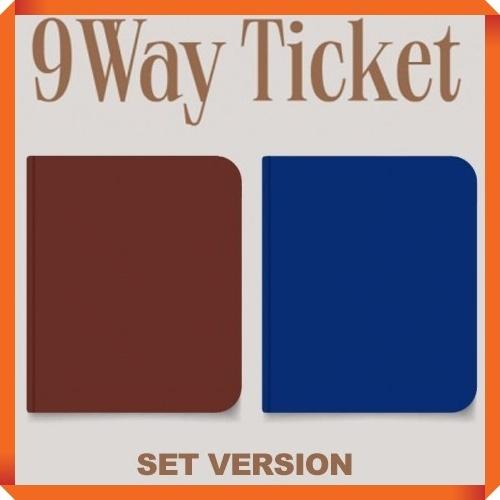 set fromis9 2nd single album 9 way ticket set ver 2cd 2poster