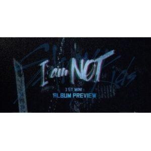 stray kids 1st mini album i am not cd poster random version 1