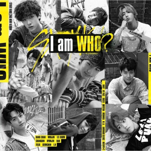 stray kids 2nd mini album i am who random ver cd