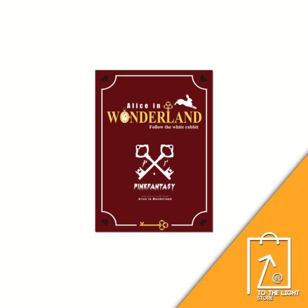 1st EP PINKFANTASY Alice in Wonderland Wonderland Ver. Poster