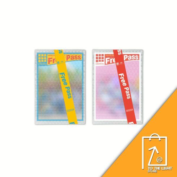 1st Single de DRIPPIN Free Pass A Ver. o B Ver. Poster