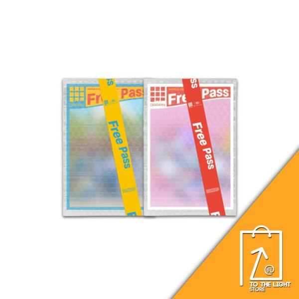 1st Single de DRIPPIN Free Pass SET Ver. Poster