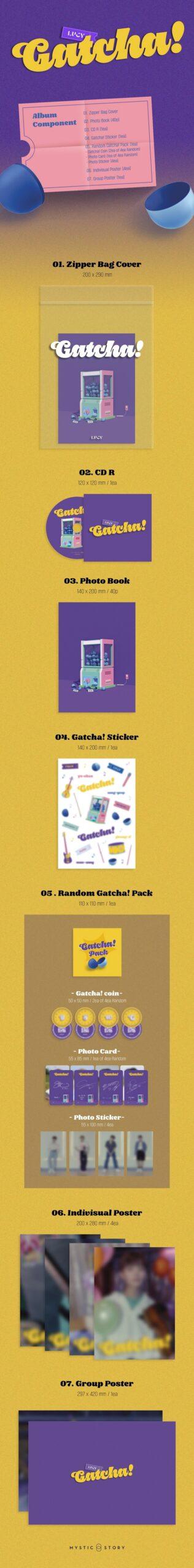 4th Single LUCY Gatcha 1