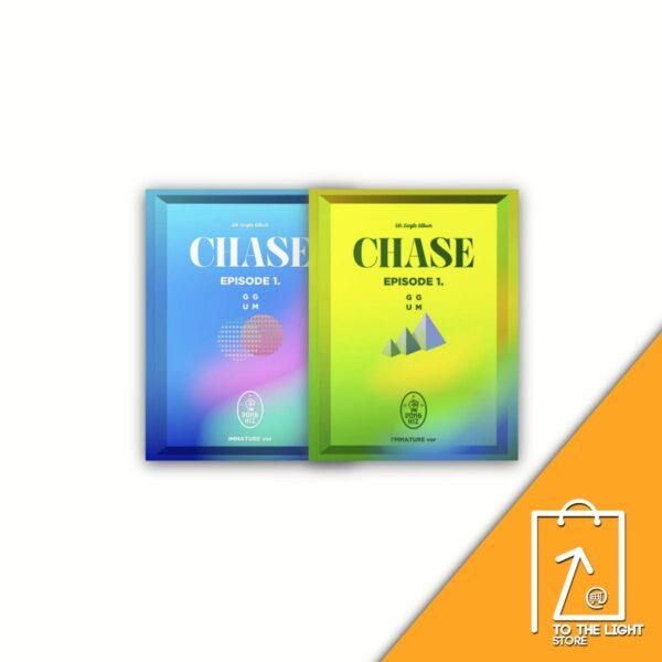 5th Single de DONGKIZ CHASE EPISODE 1. GGUM SET Ver. Poster