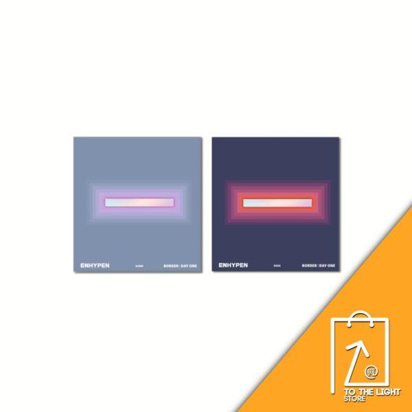 ENHYPEN Album BORDER DAY ONE CD DUSK Ver. o DAWN Ver Disponibles