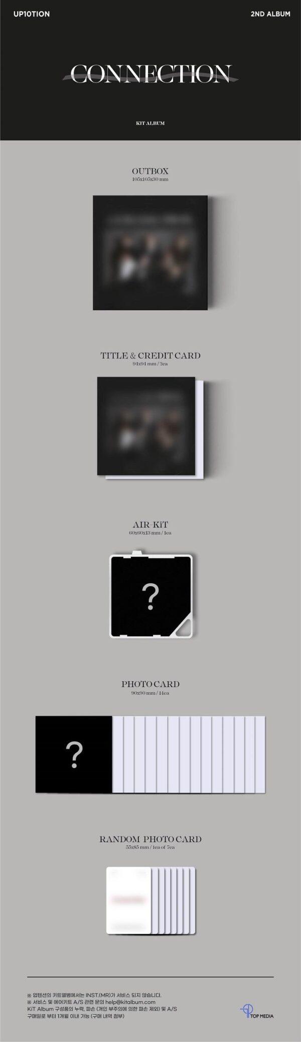 Vol.2 UP10TION CONNECTION Kit Album ver