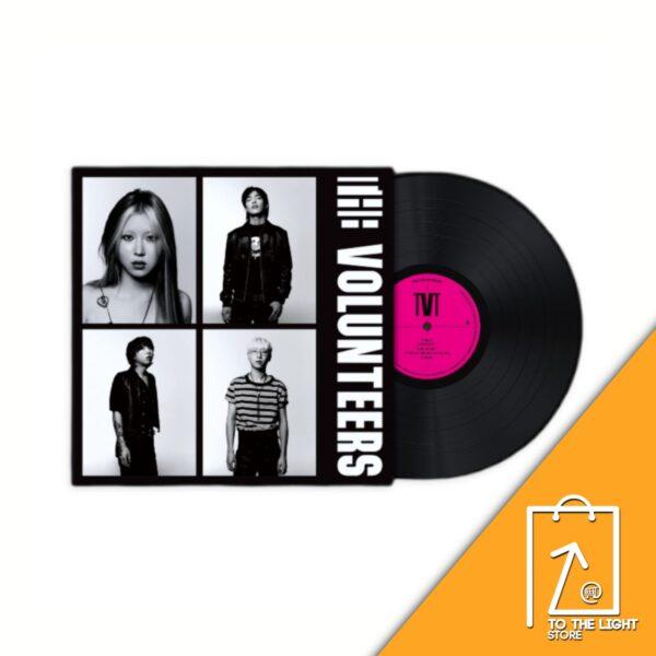 1st Album de The Volunteers The Volunteers LP Ver.