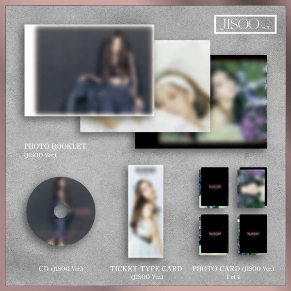 1st FULL ALBUM de BLACKPINK THE ALBUM Version Japonesa Jennie Ver. Jisoo Ver. Lisa Ver. o Rose Ver. Disponibles CD 3