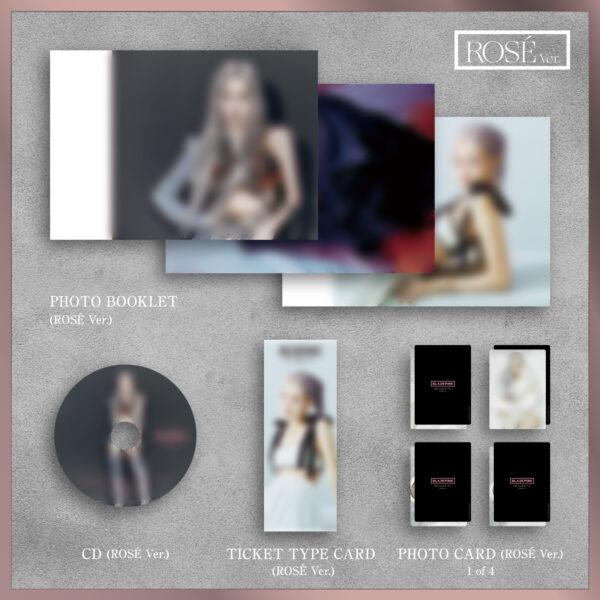 1st FULL ALBUM de BLACKPINK THE ALBUM Version Japonesa Jennie Ver. Jisoo Ver. Lisa Ver. o Rose Ver. Disponibles CD 7