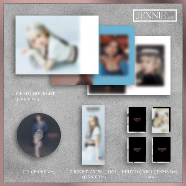 1st FULL ALBUM de BLACKPINK THE ALBUM Version Japonesa Jennie Ver. Jisoo Ver. Lisa Ver. o Rose Ver. Disponibles CD.jpg 1