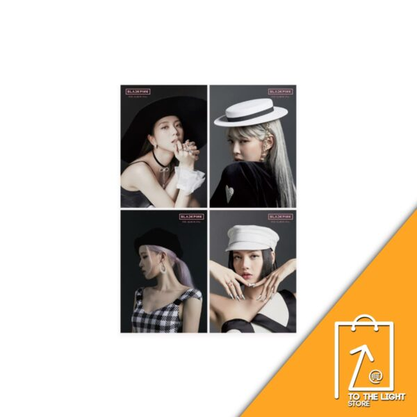 1st FULL ALBUM de BLACKPINK THE ALBUM Version Japonesa Jennie Ver. Jisoo Ver. Lisa Ver. o Rose Ver. DisponiblesCD
