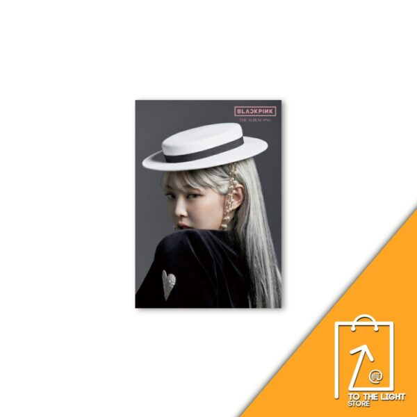 1st FULL ALBUM de BLACKPINK THE ALBUM Version Japonesa Jennie Ver.CD