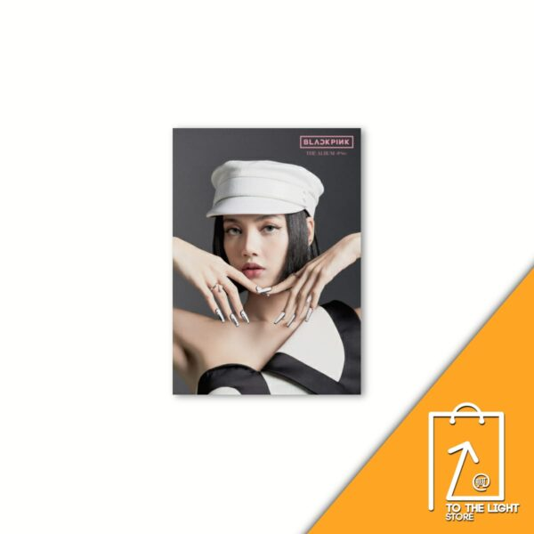 1st FULL ALBUM de BLACKPINK THE ALBUM Version Japonesa Lisa Ver.CD