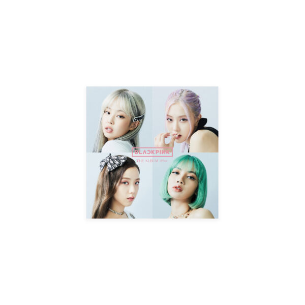 1st FULL ALBUM de BLACKPINK THE ALBUM Version Japonesa Standard Edition CD