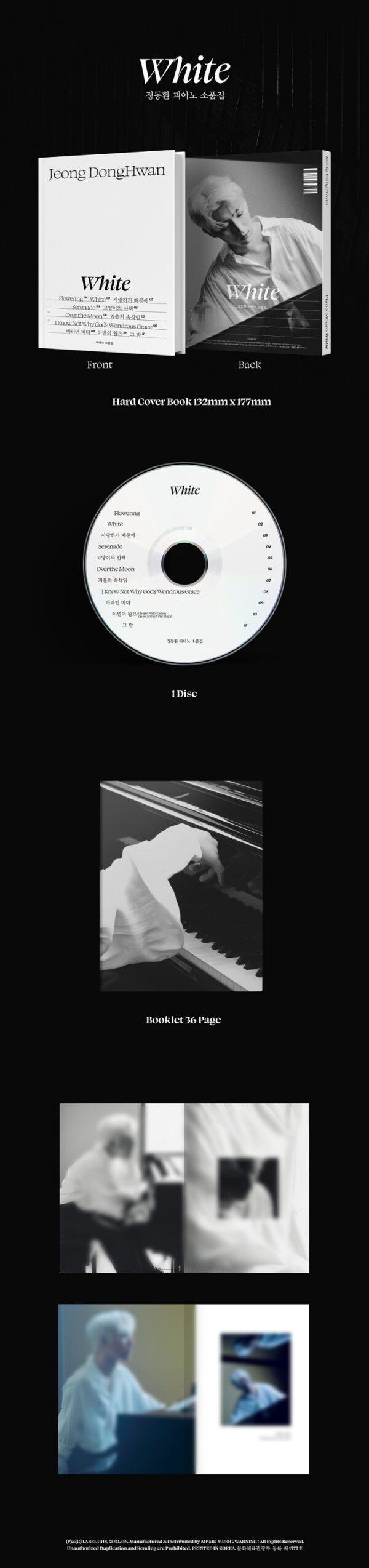 Album WHITE de Jeong Dong Hwan